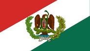 Bandera de Mexico (¡Viva México!) - 1812