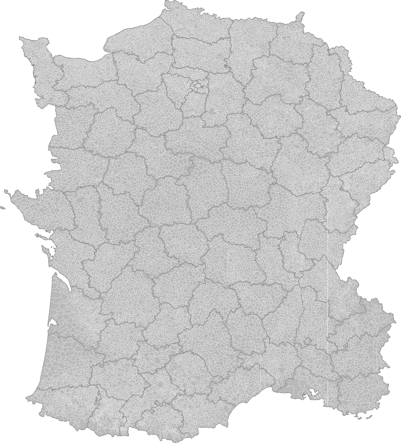 Blank map of France with communes and departments (Imperial Machines).png
