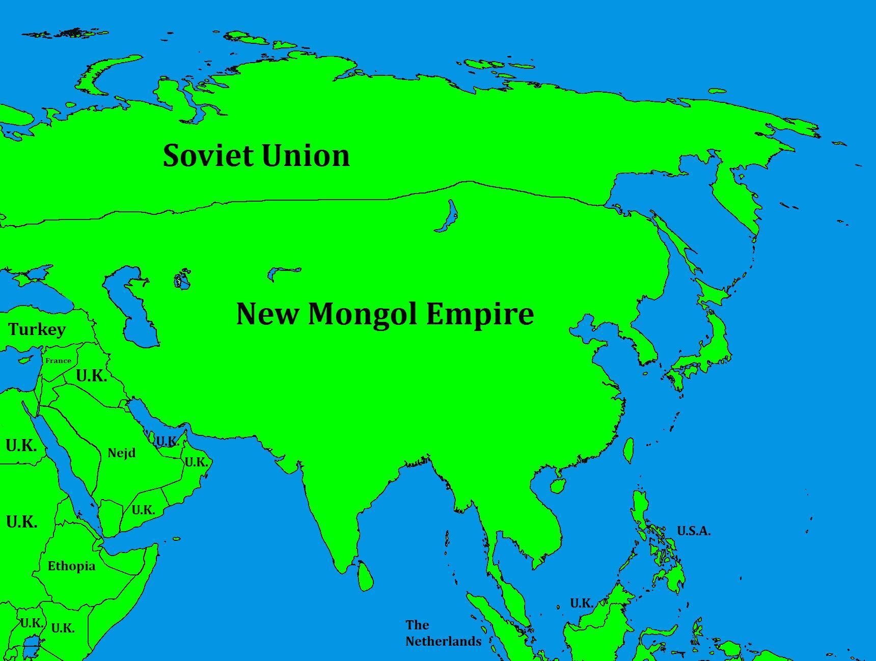 New Mongol Empire Alternative History Fandom