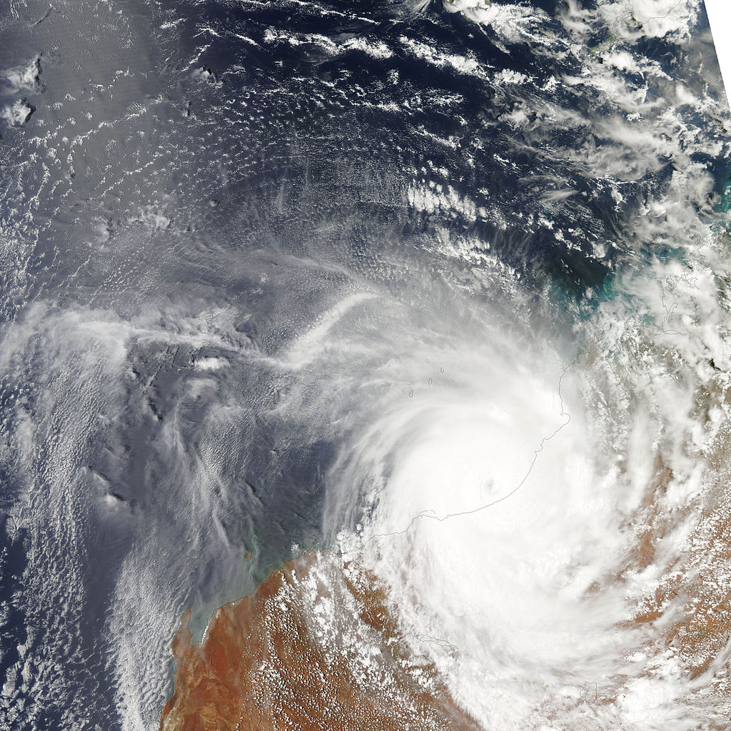 Cyclone Laurence (Joan of What?)