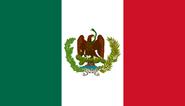 Bandera de Mexico BC