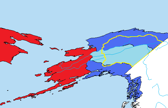 Alaskan War of Independence (Night of the Living Alternate History Map Game)