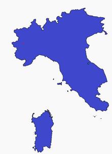 Location of Italian Republic