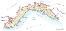 Location of Most Serene Republic of Genoa