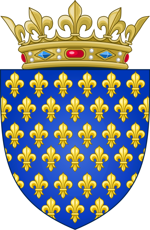 Arms of the Kingdom of France (Ancien).png