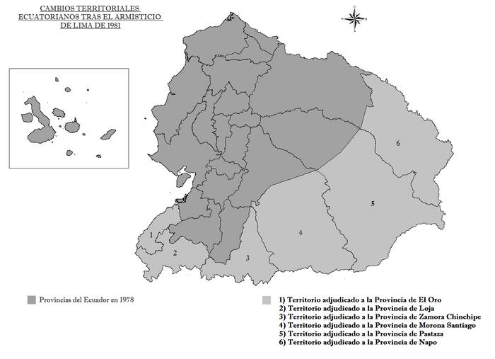Cambios Territoriales Ecuatorianos tras el Armisticio de Lima.png