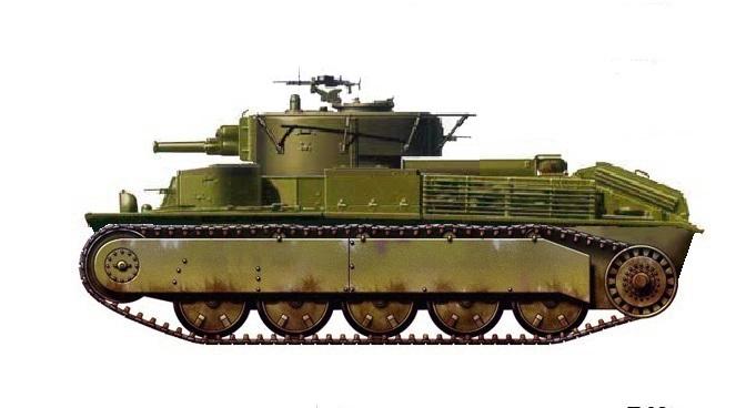 Средний танк Т-28 (МПБД)
