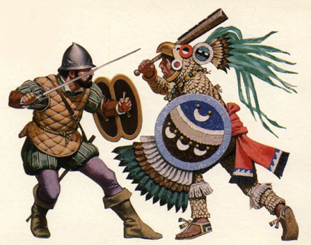 Aztec-Spaniard Wars (The Purple Mantle)
