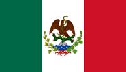 Bandera de la Primera República Federal de los Estados Unidos Mexicanos