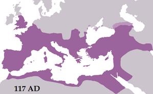RomanEmpireTrajan117AD