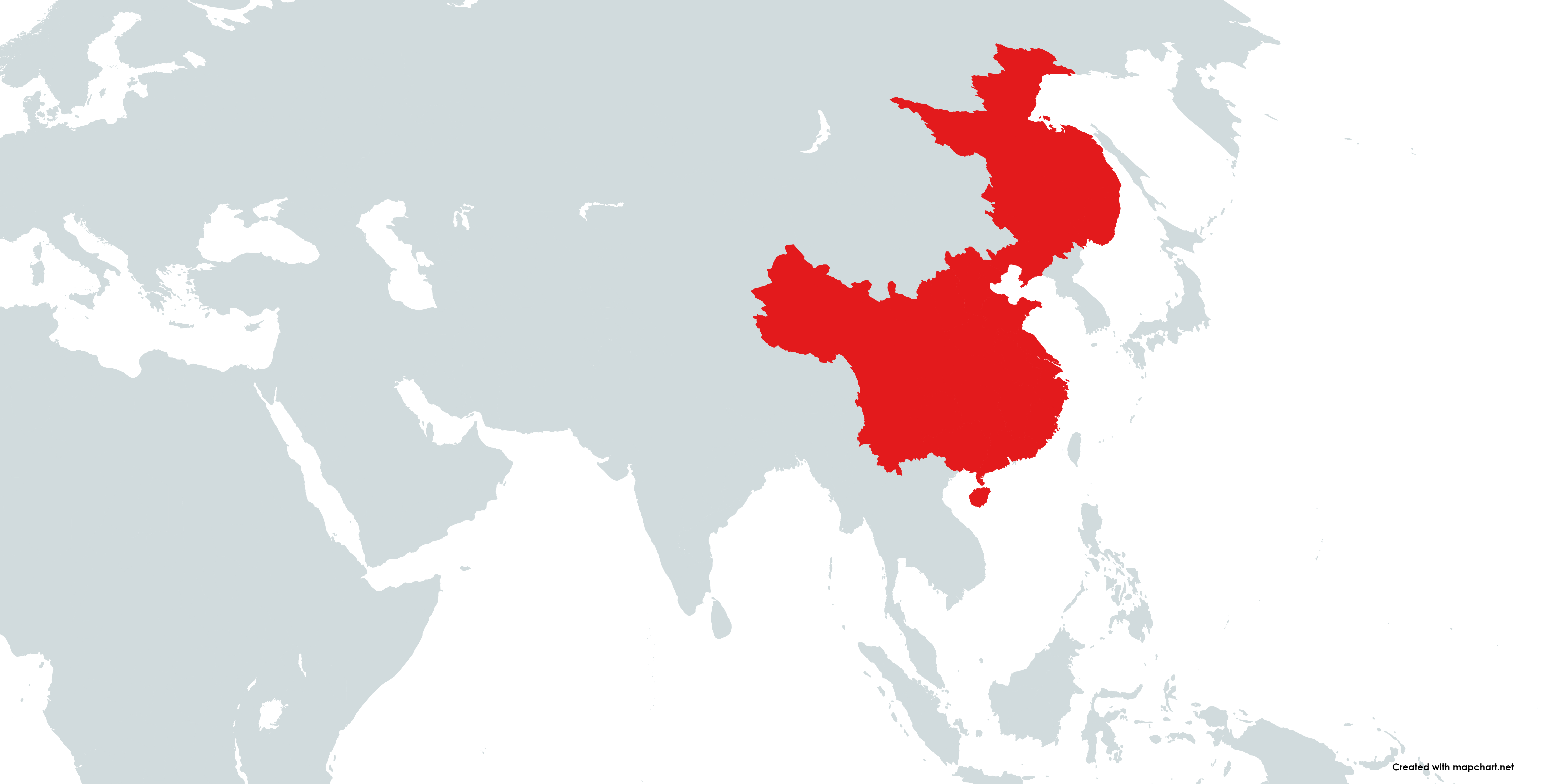 China on a map (The Sun and the Eternal Sky).png