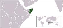 Location of Puntland