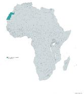 REPUBLICA ARABE SAHARAUI DEMOCRATICA MAPA 1993 LGMS