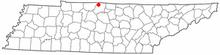 Location of Portland
