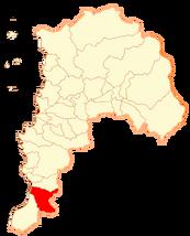 Ubicación de San Antonio (Chile No Socialista)