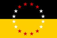 Vereinigte Staaten von Groß-Österreich Flagge neu