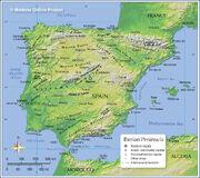 Mapa Penísula Iberica