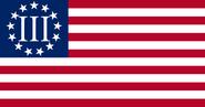 Official Three Percent Flag