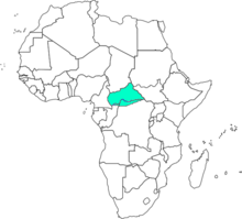 Location of C.A.R