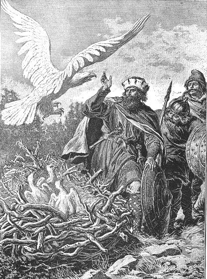 Лев рыкающий (миниатюра)