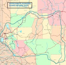 Location of Sierra Nevada Union (SNU)