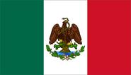 Bandera de México (1889-1916)