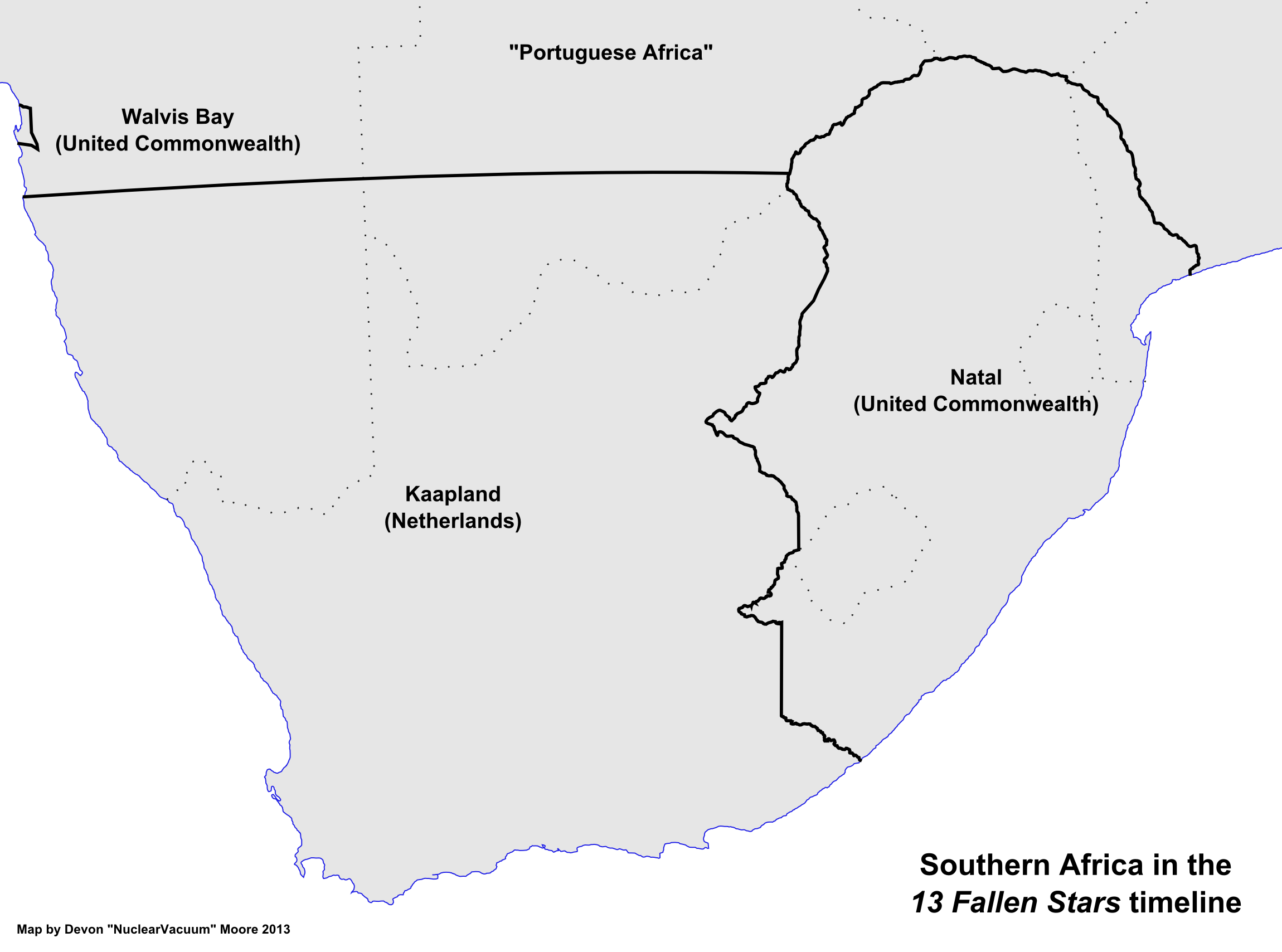 Map of Southern Africa (13 Fallen Stars).png