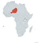 NIGER MAPA 1993 LGMS
