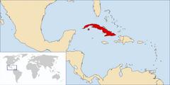 Ubicación de Cuba (MPA)