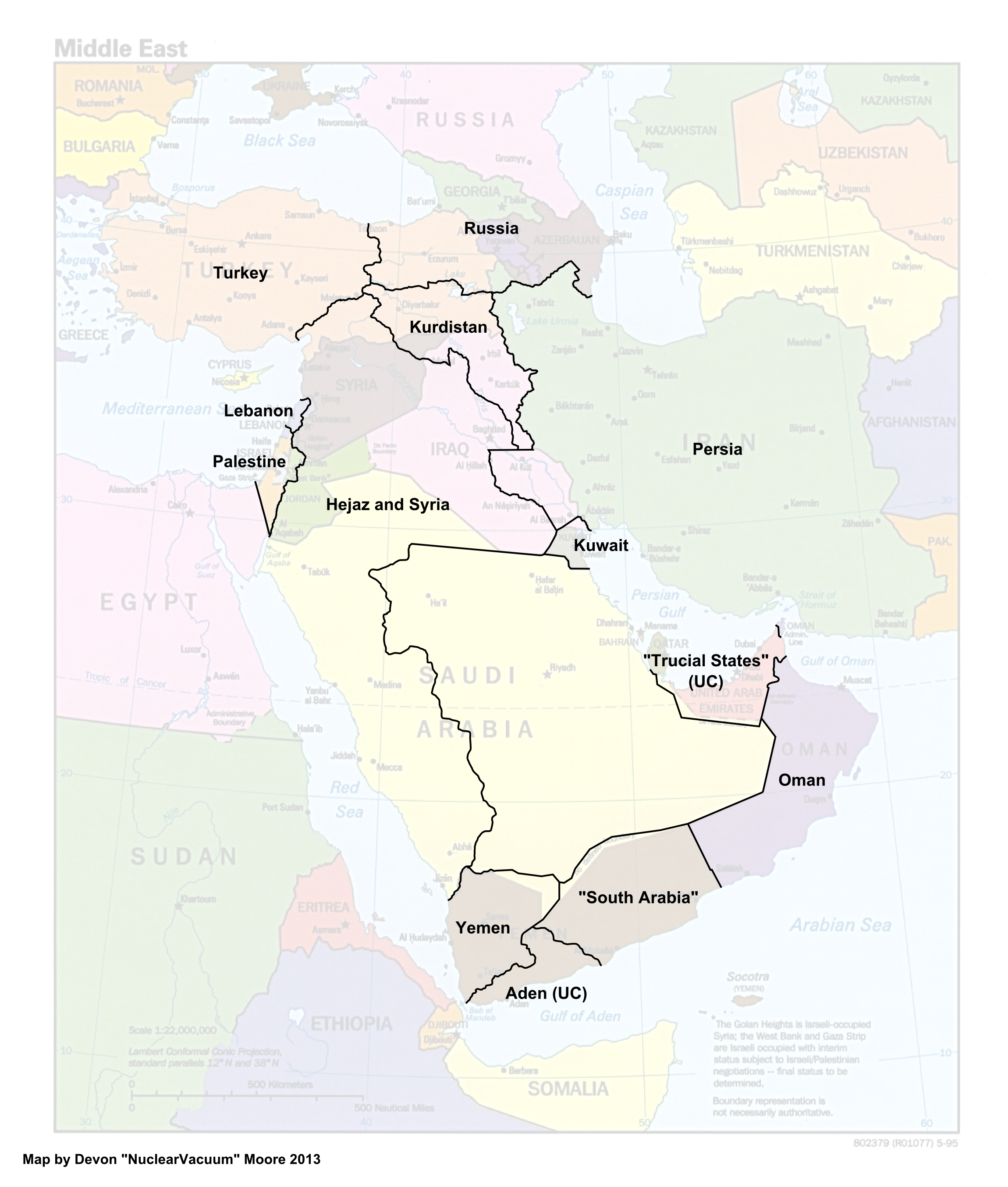 Map of the Middle East (13 Fallen Stars).png