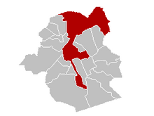 Location of City of Brussels