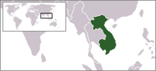 Location French Indochina