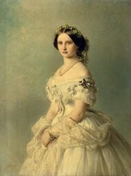 1857 Luise of Prussia, Princess of Baden by Franz Xaver Winterhalter.jpeg