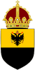 Coat of arms of Edward Empiresmund, Holy Roman EmperorWittelsbachHabsburg.png