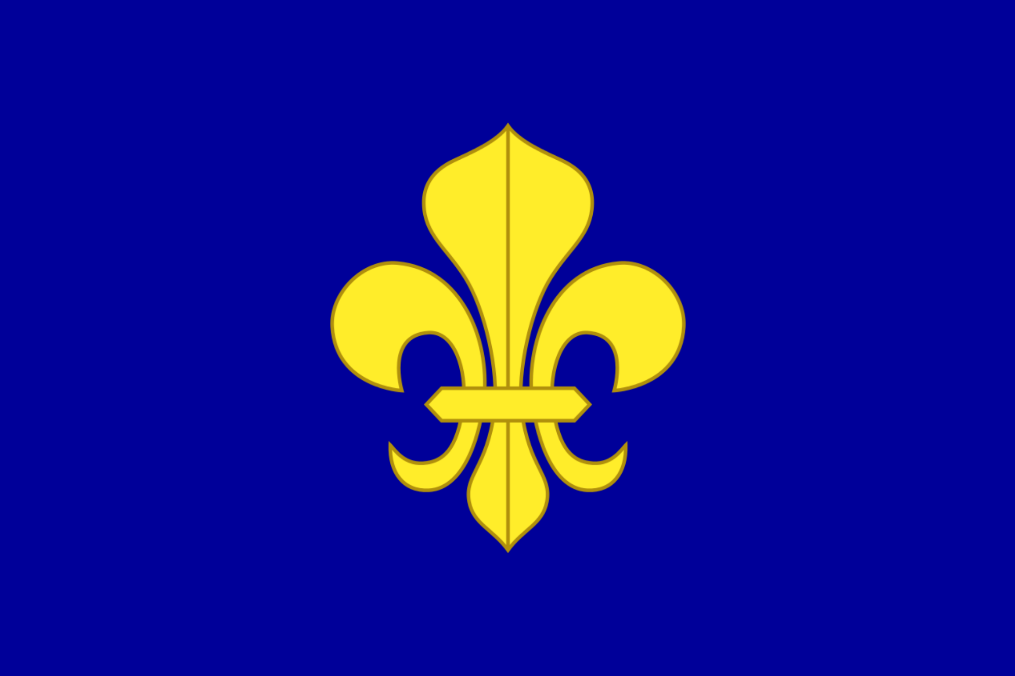Flag of the Kingdom of France (Long Live The Republic).png