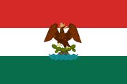 Bandera de Mexico (¡Viva México!) - 1880