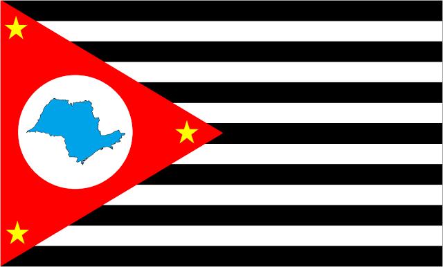 Bandera de Piratininga (Venezuela anglosajona)