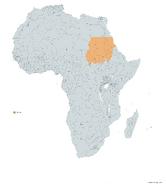 SUDAN MAPA 1993 LGMS