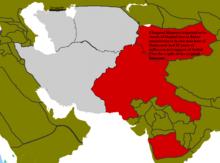 Location of Persia
