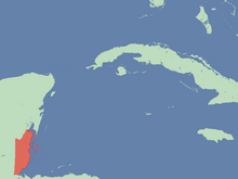 Location of The Free State of Belize