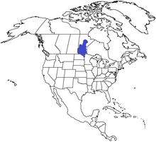 Location of Assiniboia