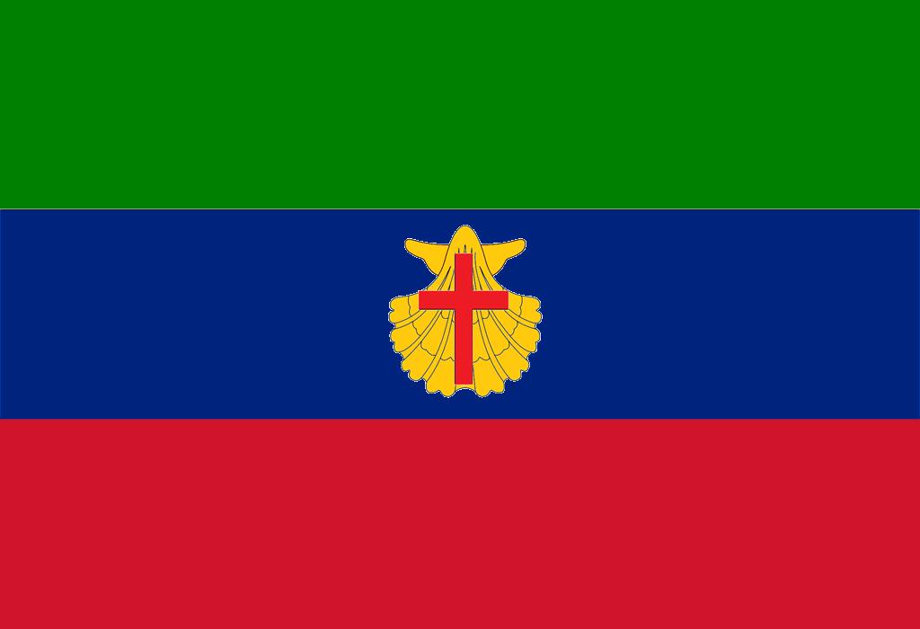 Bandera de Nueva Venecia Británica (Venezuela anglosajona)