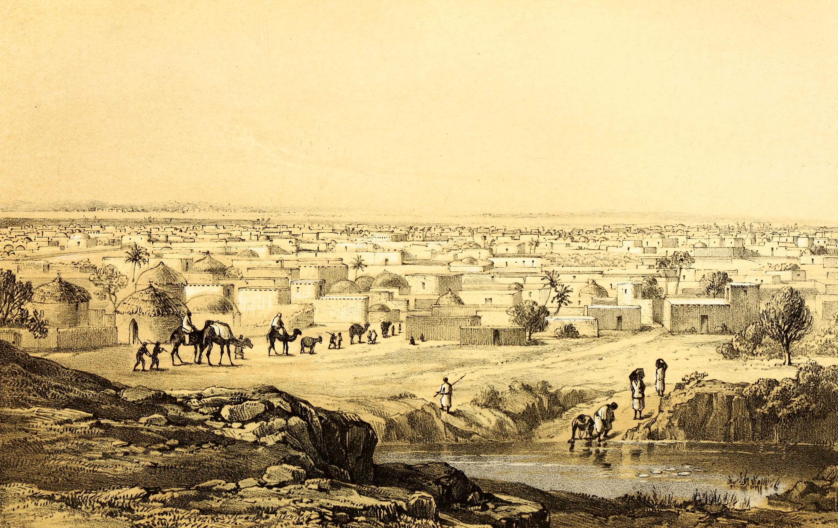 Barth 1857 Kano from Mount Dala.jpg