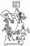 053-Combat Between Mexican and Bilimec Warriors