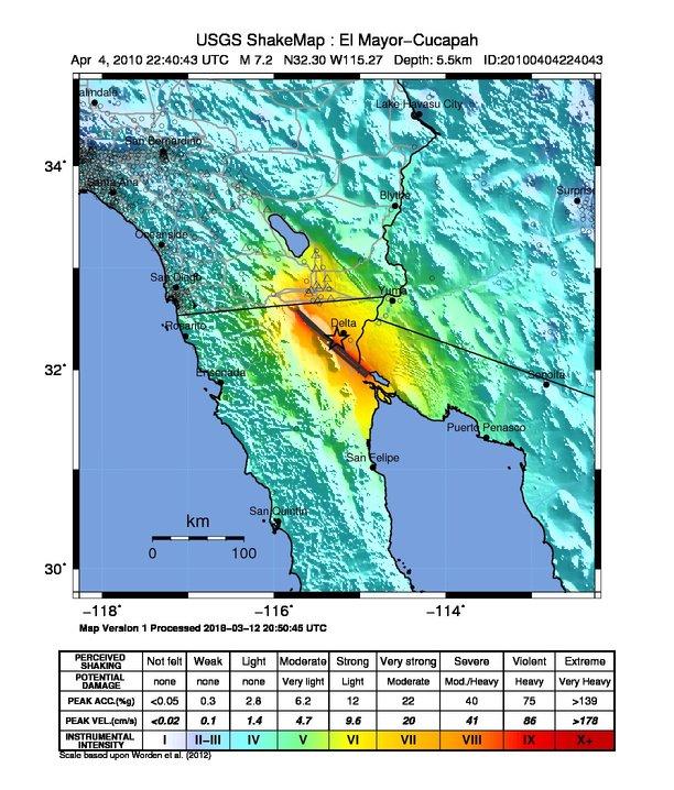 April 2010 Baja California earthquake intensity USGS.jpg