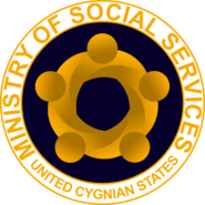 Seal of the Cygnian Ministry of Social Services