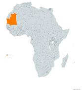 MAURITANIA MAPA 1993 LGMS