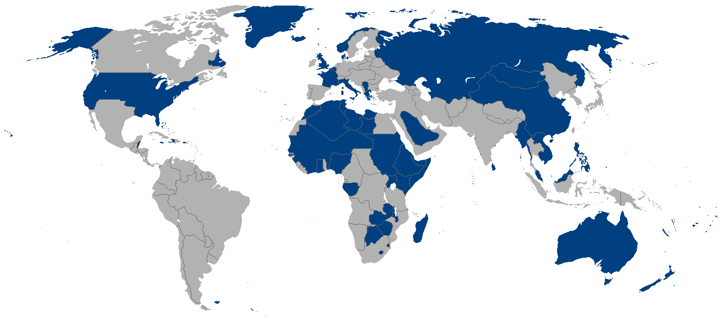 Allies of World War II (Central Victory)