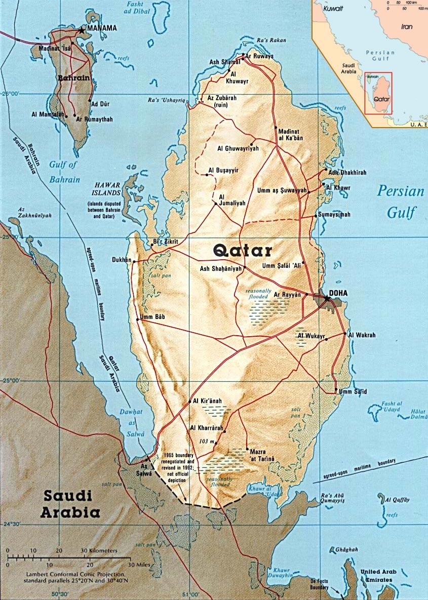 1946 Battle for Qatar (Hitler's World)