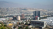 Location of Tijuana